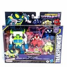 Transformers Bumblebee CYBERTRONIAN VILLAINS REPUGNUS & PESTICONS - $43.49