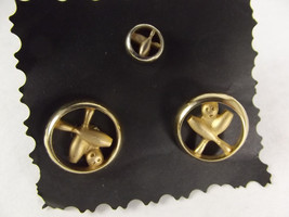 Bowling Cuff-Links And Tie Tac. - $3.77