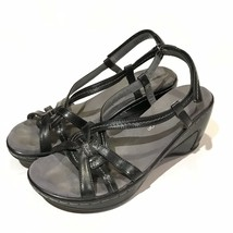 J-41 Adventure On Jambu Sandals 6.5 M Womens St John Navy Blue Comfort - $25.25