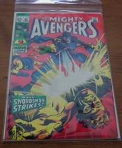 THE MIGHTY AVENGERS #65 MARVEL COMIC BOOK 1969 - $64.35