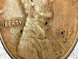 Lincoln Wheat Penny 1911 P,  1912, and 1912 S AA20-CNP2166 Antique