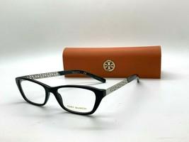 NEW Tory Burch TY 2058 1390 black 51-16-135MM Eyeglasses Frame CASE/CLOTH - $77.43