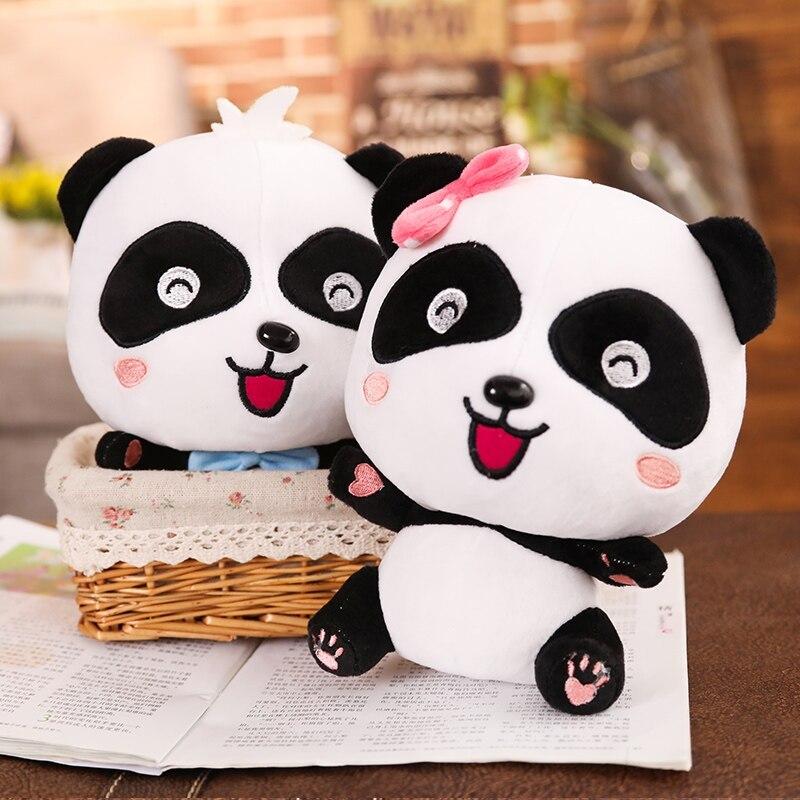 BabyBus 22/35/50cm Cute Panda Plush Toys Hobbies Cartoon Animal Stuffed Toy Doll image 3