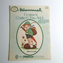 Authentic Hummel Designs In Counted Cross Stitch Pattern Book 5073 Volu... - $4.94