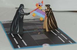 Lovepop LP2084 Darth Vader Celebration PopUp Card White Envelope Cellophane wrap image 3