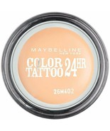 Gemey Maybelline Eyestudio Color Tattoo 24h - 93 Creme De Nude - $5.42