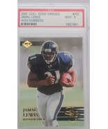 2000 Collector's Edge Graded High Numbers Jamal Lewis Mint PSA 9 #152 - $9.89