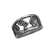 QUEEN NEFERTITI Egyptian Ring Egypt Solid sterling silver 925 Jewelry New - $34.99