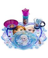 Disney Store Frozen Elsa Plate Cup Tumbler Water Bottle Silverware Spoon... - $34.95