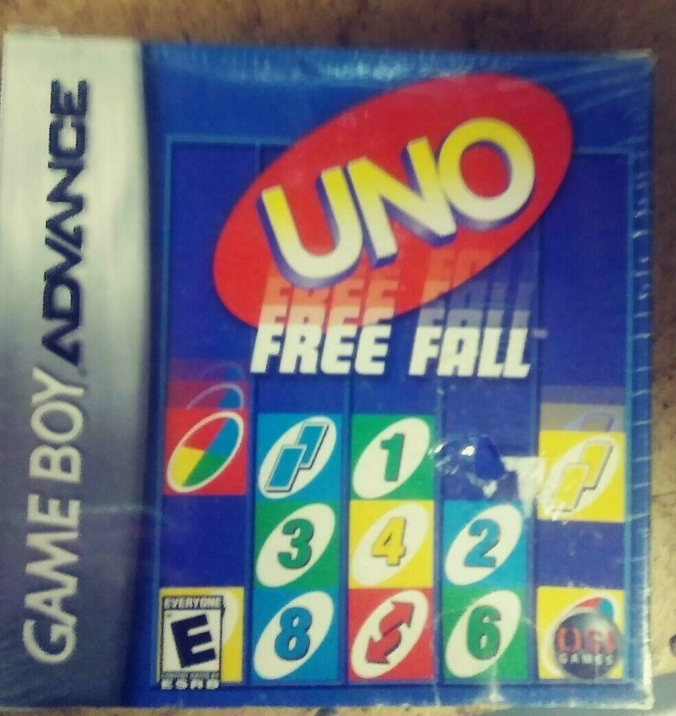 Uno Free Fall (Nintendo Game Boy Advance, 2007) NEW FACTORY SEALED