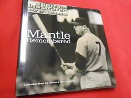 Great Vintage Baseball Book-SPORTS ILLUSTRATED Presents MANTLE REMEMBERED - $15.43