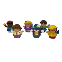 Lot of 6 Fisher Price Little People with Arms - $12.48