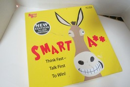 Smart Ass Board Game By University Games Ages 12+ New Edition Think Fast - $21.00