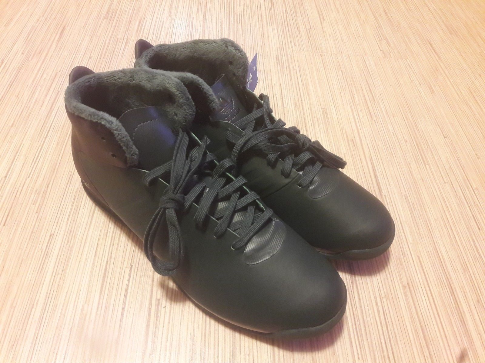 best service 56126 ba1d9 Adidas PORSCHE 911 2.0L MID Winter Sneakers Mens Walking S76116 Sz US 12