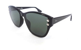 Dior Women's Sunglasses DIOR ADDICT3F 807 Black/Green 145 MADE IN ITALY ... - $195.00