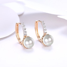 Simply Elegant Pearl Drop Earrings Mini Classic Fashion Jewelry - $14.69