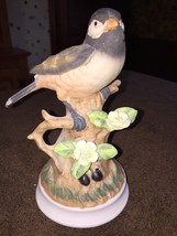 Angeline Originals Porcelain Bird Figurine Blac... - $15.83