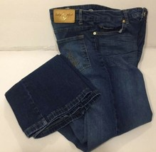 Baby Phat Jean Co. Juniors Size 7 Distressed Embellished Boot Cut Jeans - $21.77