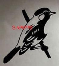 Bird on a Branch Single Colour PDF Cross Stitch Chart - $8.00