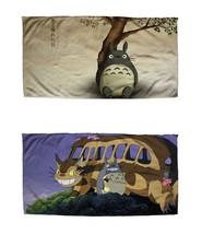 NEW My Neighbor Totoro Hand Towel Microfiber Washcloth Facecloth Anime 3... - $9.99
