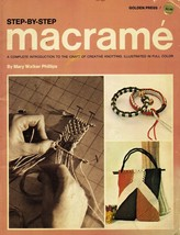 Vintage 1970 Macrame Techniques Projects Plant Hanger Rug Jewelry Patter... - $13.99