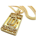 Shiny Jewelers USA Mens Dream Chaser ICED Out Hip HOP CZ Pendant Franco ... - $120.86
