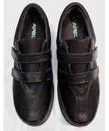 Women's Apex shoes Black 8.5 Leather NEW diabetic comfort bunions A730W ... - $50.04