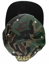 KR3W Men's Camo FTW Fu$k the World Blood and Concrete Snapback Baseball Hat NWT image 6