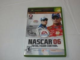 Nascar 06: Total Team Kontrolle Microsoft XBOX 2005 E-Everyone Rennen Ge... - $16.02