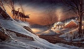 Animal illustration Art oil painting printed on canvas home decor Deer C... - $14.99
