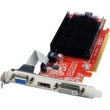 VisionTek Radeon 5450 1GB DDR3 (DVI-I, HDMI, VGA) - Passive Cooler - Dir... - $50.43