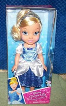"Disney Princess Toddler Cinderella 14"" Doll New - $26.88"