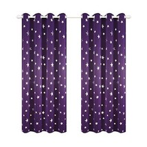 Kotile Blackout Purple Curtains for Girls Room 95 Inch Length 2 Panels, ... - $49.30