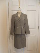 NWT $160 Newport News dressy Ocassion dress & jacket set size  6 - $48.51