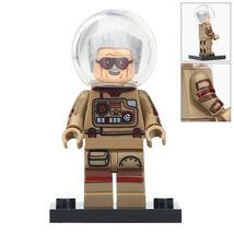 Stan Lee (space suit) Marvel Comics Avengers Iron Man Lego Minifigures Block - $1.99