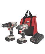 PORTER CABLE - PCCK604L2 - 20V Max Lithium Ion Combo Kit Drill Driver Power - $158.35