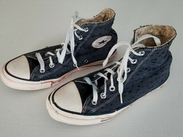 Converse Womens SZ 8 M Shoes Blue 547321C Hi Top Sneaker Chuck Taylor Al... - $14.03