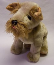 "TY Beanie Buddies SCHNITZEL TERRIER PUPPY DOG 9"" Plush STUFFED ANIMAL To... - $19.80"