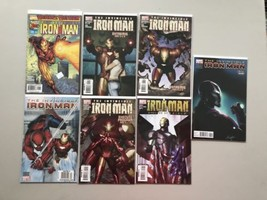Lot 13 Iron Man 3rd) 1 38 39 51-53 Annual 2001 4th) 5-7 12 22 26 VF-NM N... - $29.70