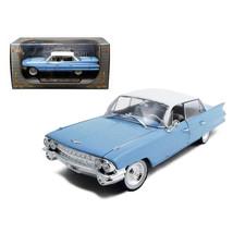 1961 Cadillac Sedan De Ville Eldorado Blue 1/32 Diecast Car Model by Sig... - $40.36