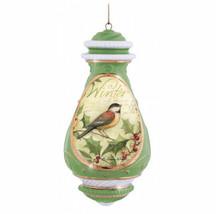 Winter Precious Moments Ornament Porcelain Susan Winget NOS Songbird NWOB - $25.73