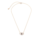 Old color chain crystal eye pendant necklace for girls holiday jewelry wholesale 1 thumb155 crop