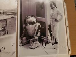 "Star wars Carrie Fisher ""Princess Leia"" Signed  Photo w/ COA - $350.00"