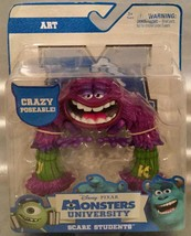 """Disney Monsters University Scare Students ART - 5"""" Tall Poseable NEW ~ Treat! - $7.29"""