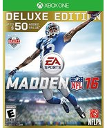 Madden NFL 16 - Deluxe Edition - Xbox One [video game] - $15.83
