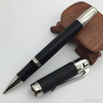 Good quality Classical Black/Red Metal Roller Ball Pen silver clip MT luxury pen - $26.99