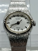 VINTAGE Citizen brand LADIES Watch QUARTZ NEEDS BATTERY 2060639 - $29.69