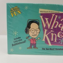 Michael Feldmans Whad'Ya Know Game Public Radio Quiz Show Sealed Bobbleh... - $20.79