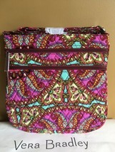 "NWT Vera Bradley "" RESORT MEDALLION "" Triple zip Crossbody Handbag - $36.99"