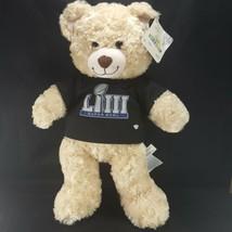 """Build A Bear 16"""" NFL Super Bowl 53 Brown Stuffed Bear LIII Jersey Rams Patriots  - $19.79"""